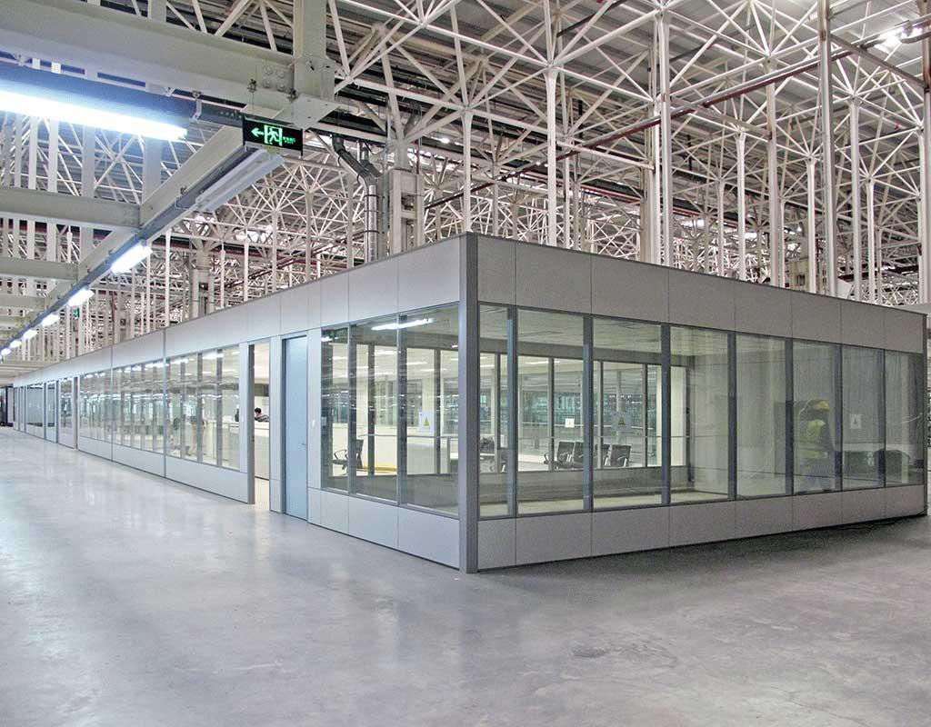 Devar Partition Systems Steel
