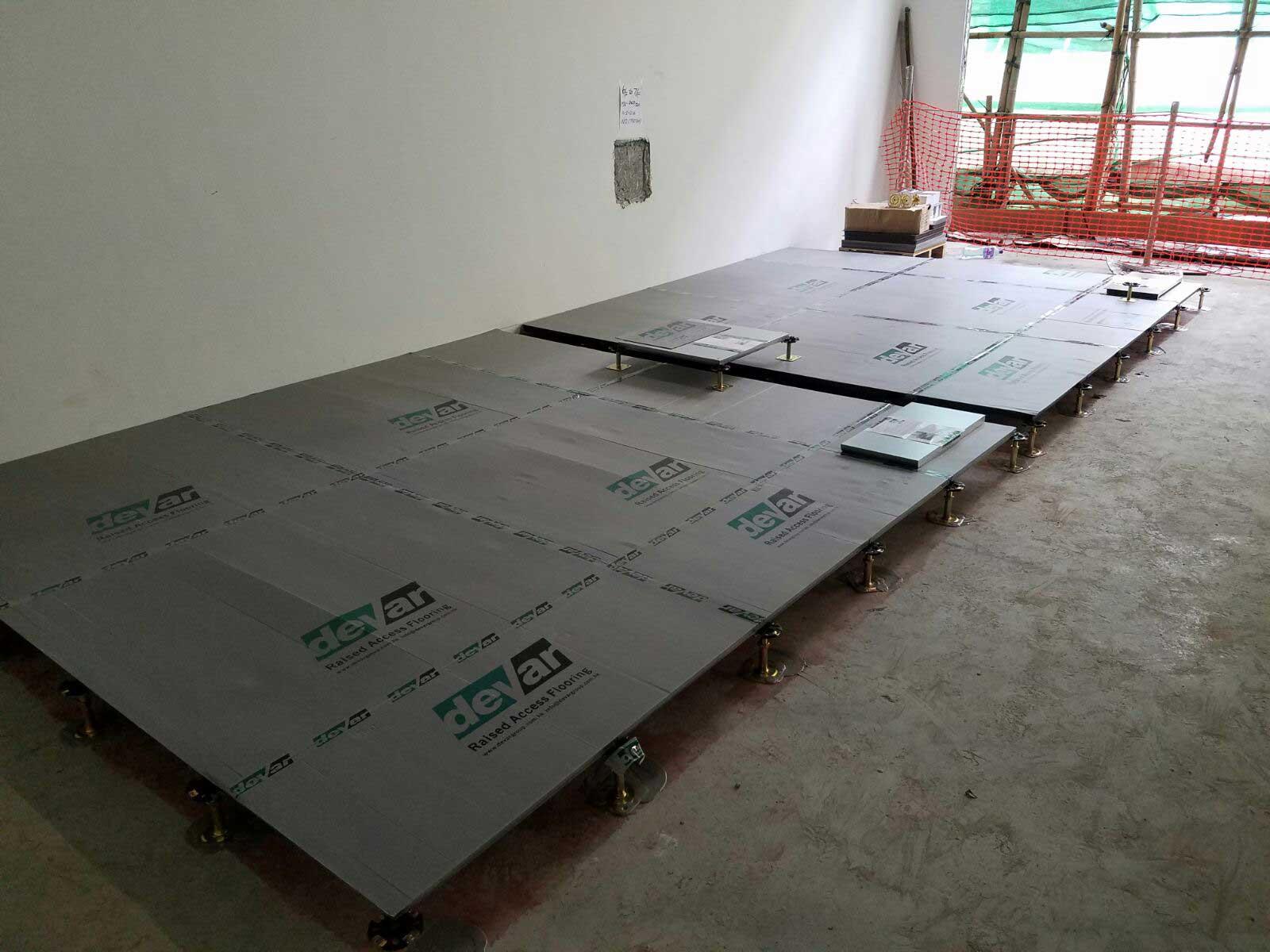 Gravity Hing Yip Street Hong Kong Devar Raised Access Flooring Installation