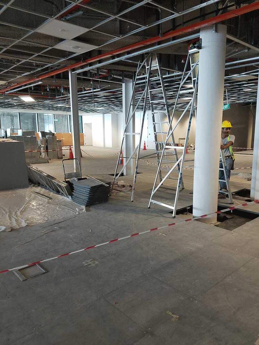 Marina One Singapore Devar Raised Access Flooring 1