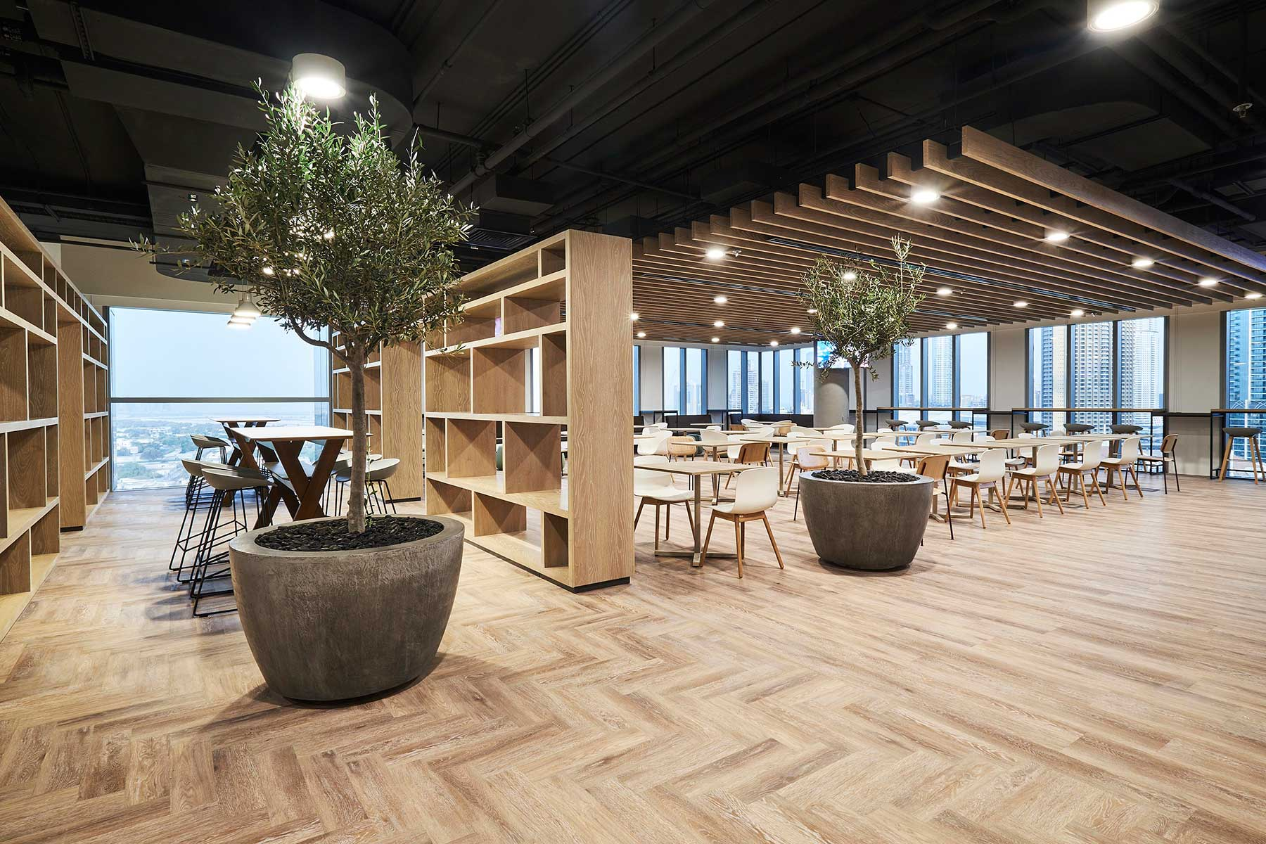 Marriott Office Dubai Devar Raised Access Floor Finished 2