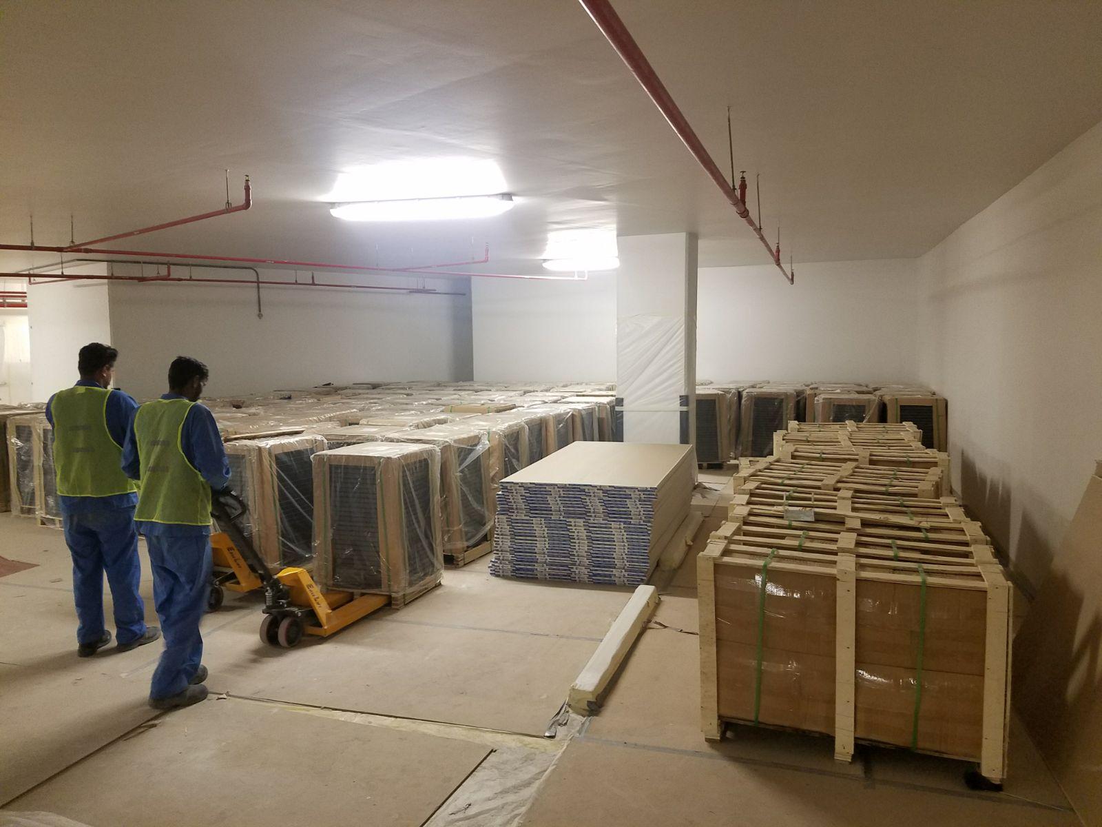 Marriott Office Dubai Devar Raised Access Floor Installation 1