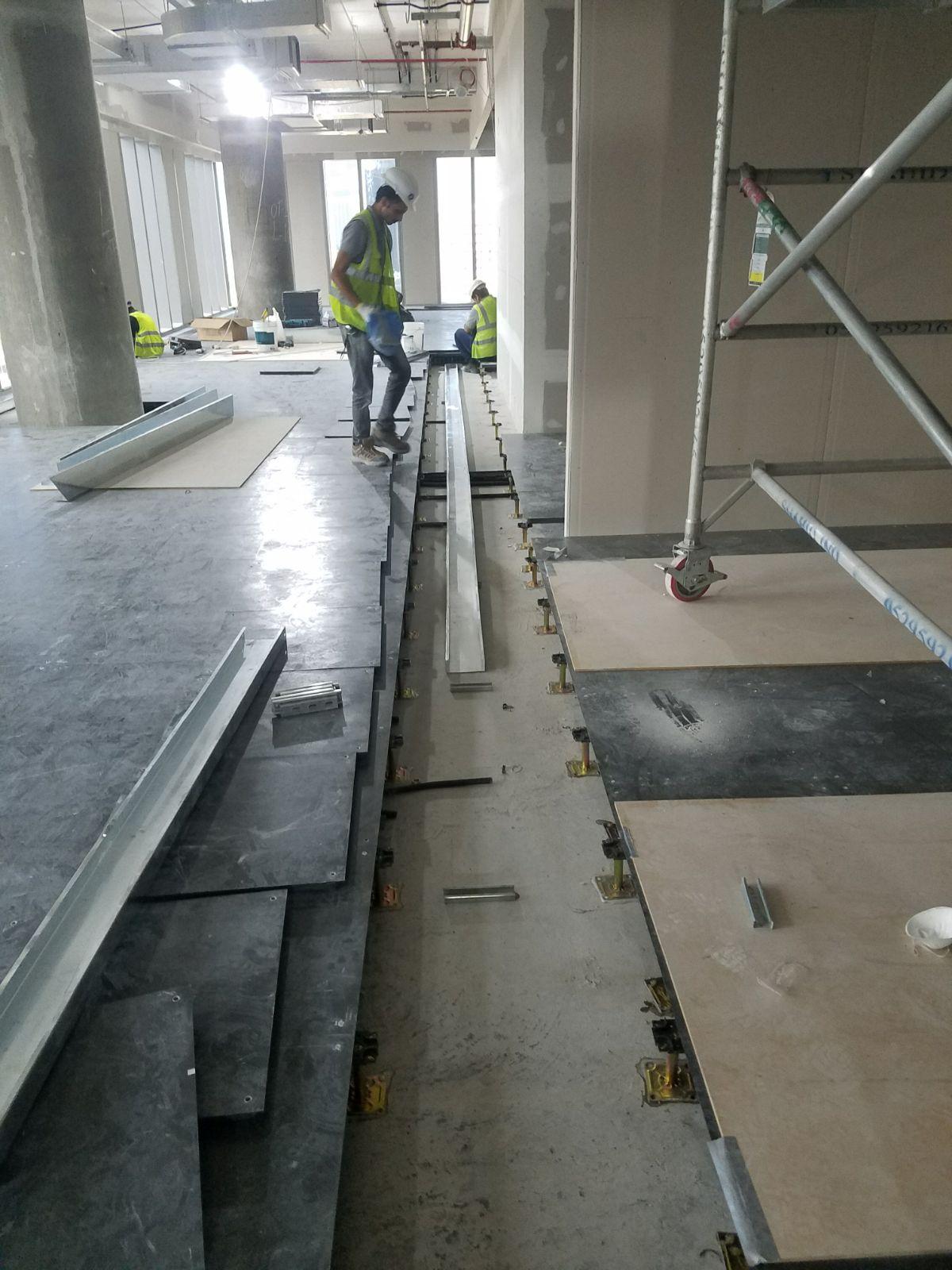 Marriott Office Dubai Devar Raised Access Floor Installation 2