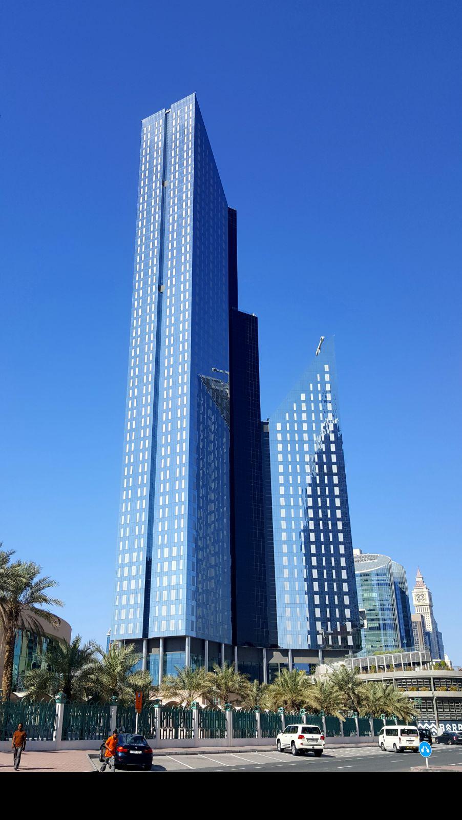 Marriott Office Dubai Outside View