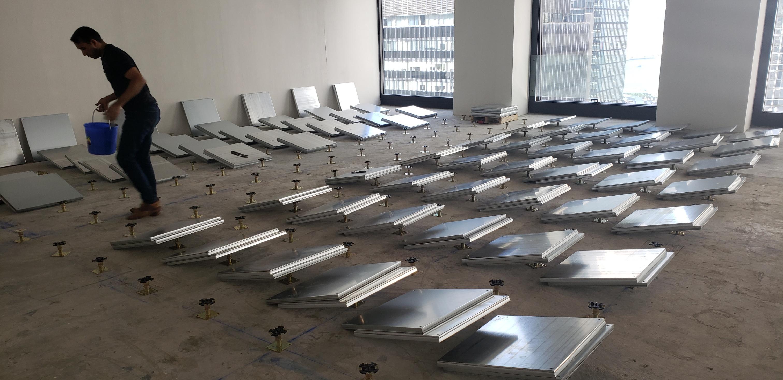 Raised Access Floor Installation Devar For Equilend 2