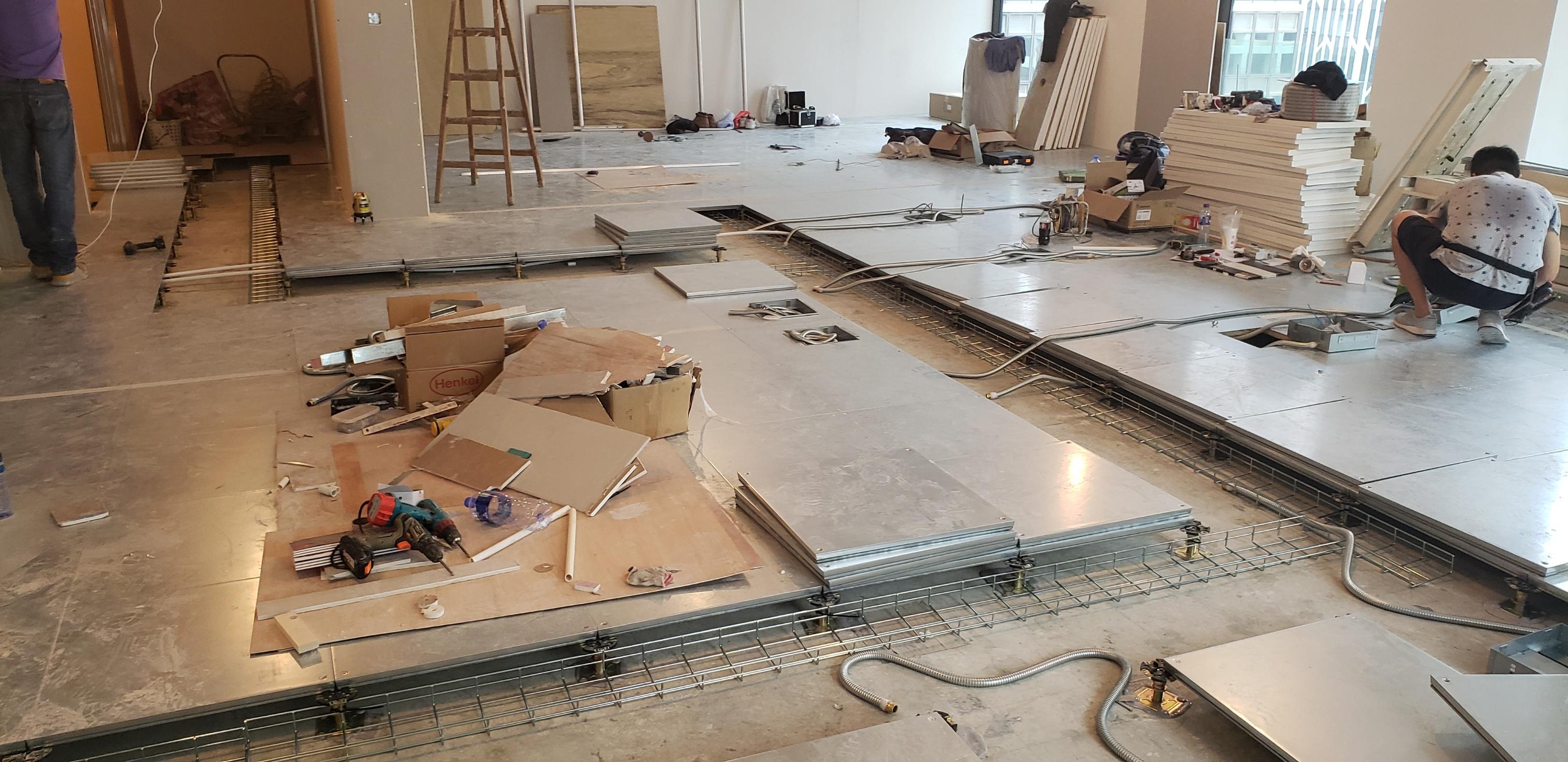 Raised Access Floor Installation Devar For Equilend 3