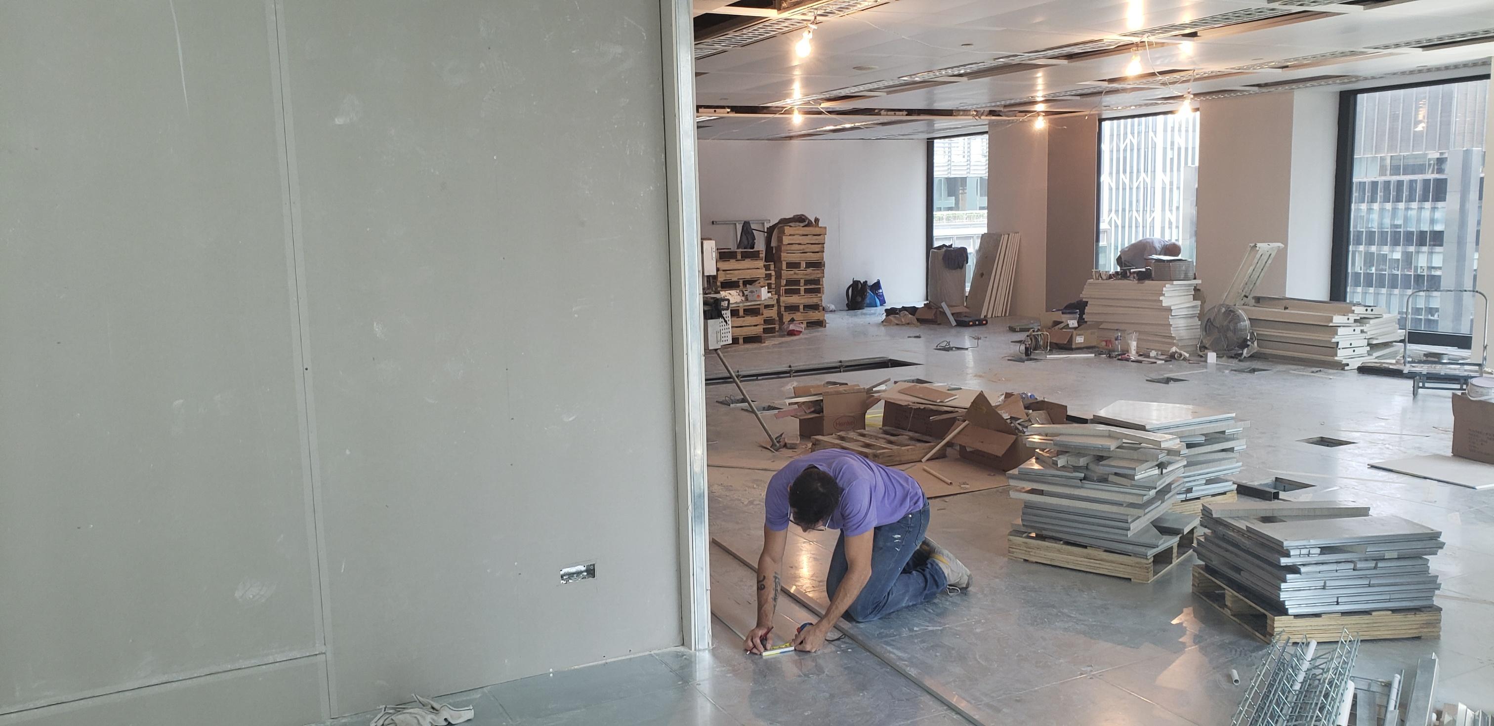 Raised Access Floor Installation Devar For Equilend 5