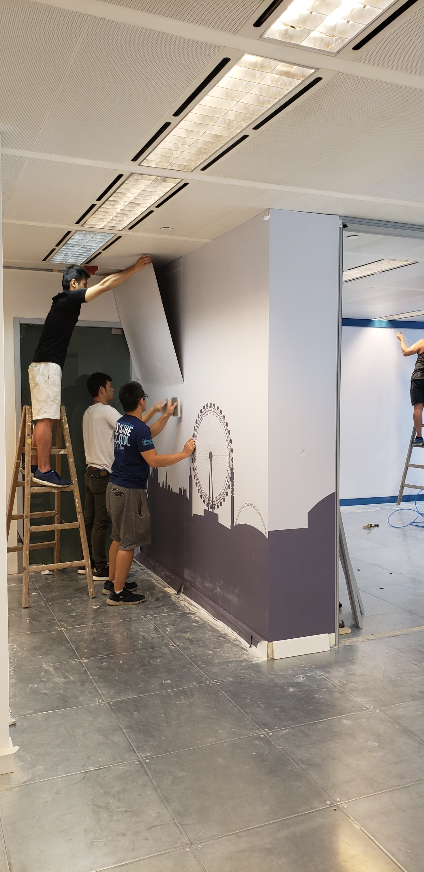 Raised Access Floor Installation Devar For Equilend 6