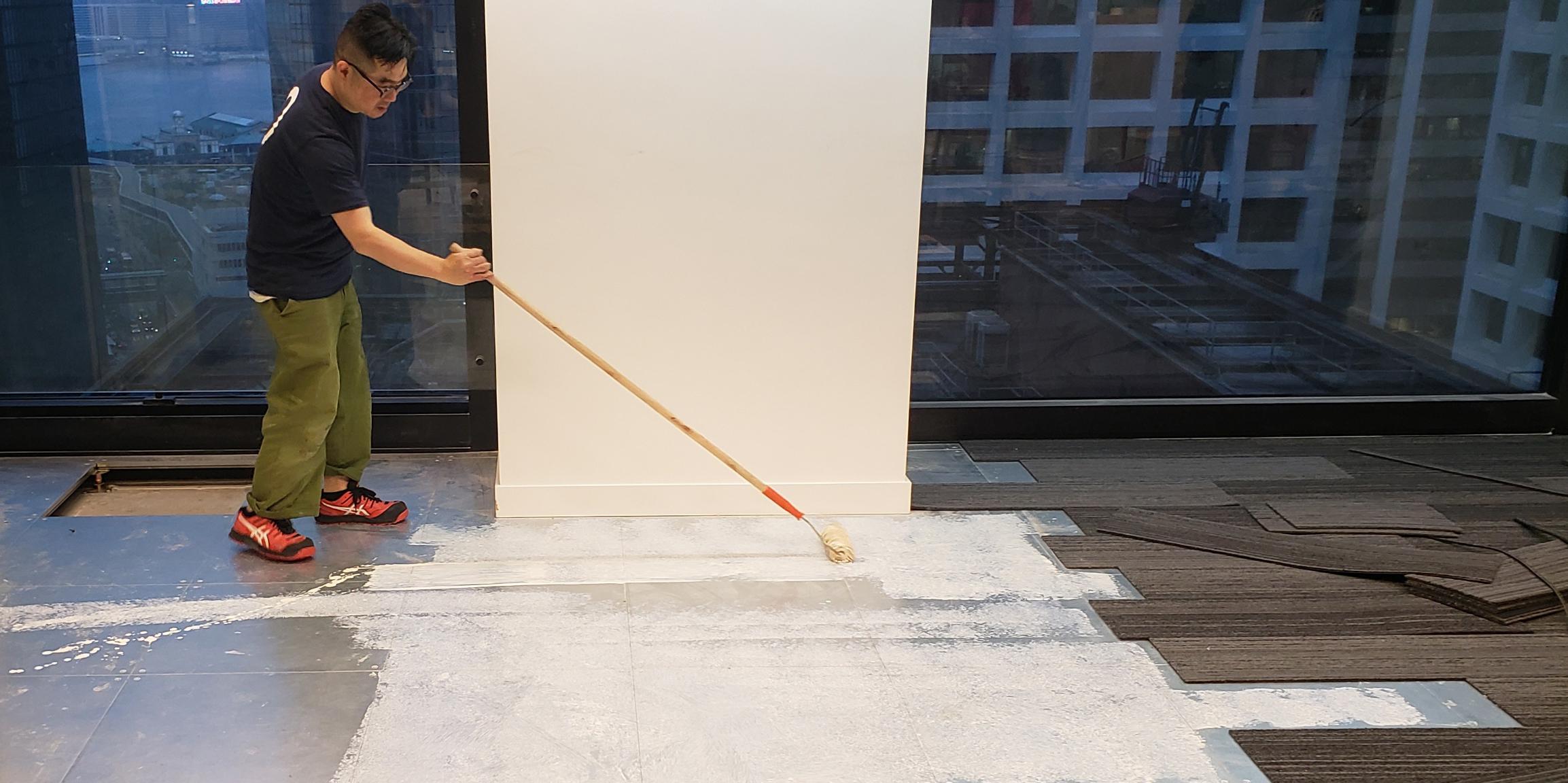 Raised Access Floor Installation Devar For Equilend 8