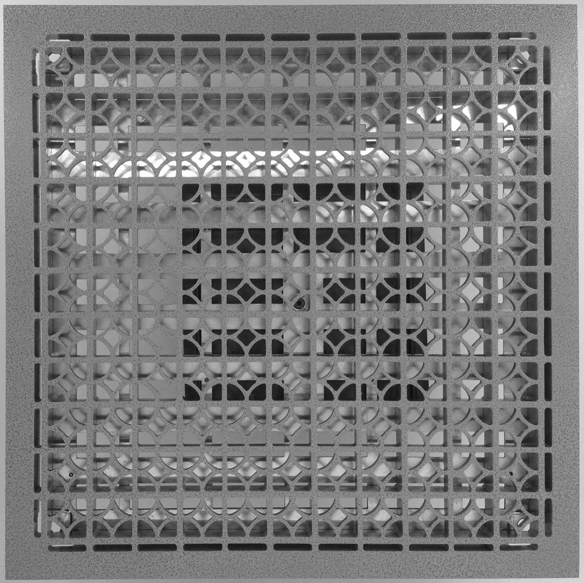 Raised Access Flooring Aluminium Grate Panel Devar 1