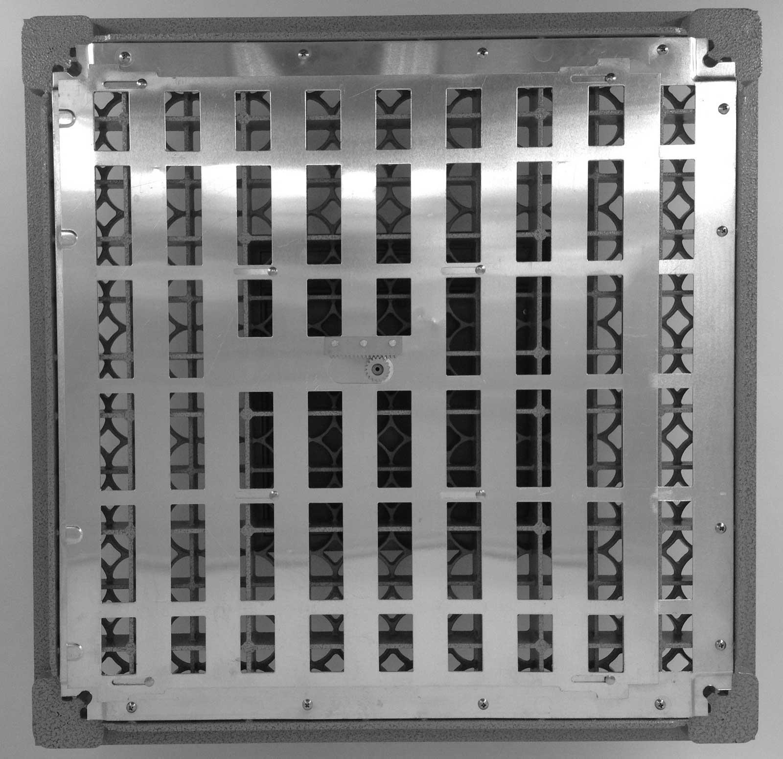 Raised Access Flooring Aluminium Grate Panel Devar 2