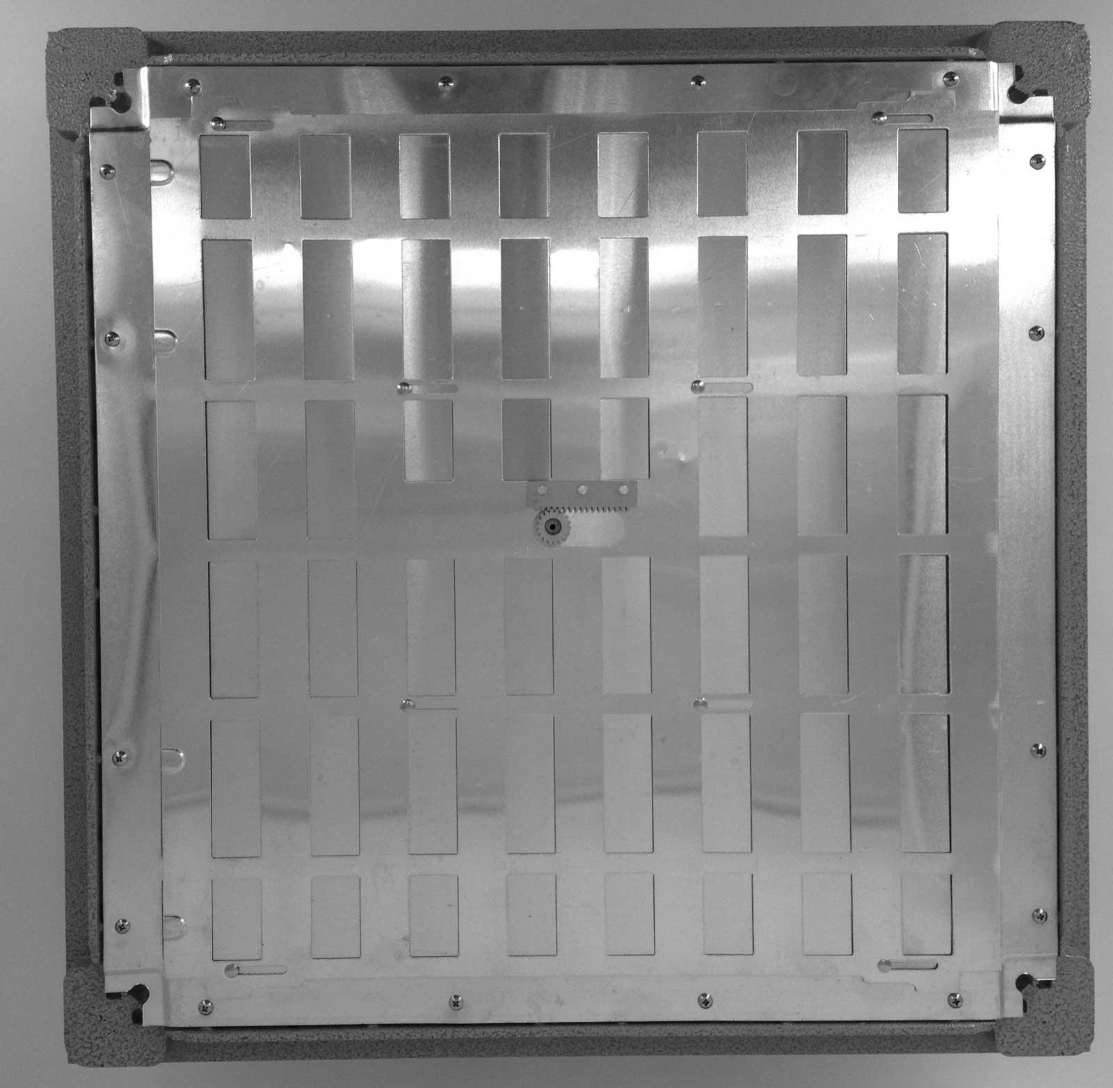 Raised Access Flooring Aluminium Grate Panel Devar