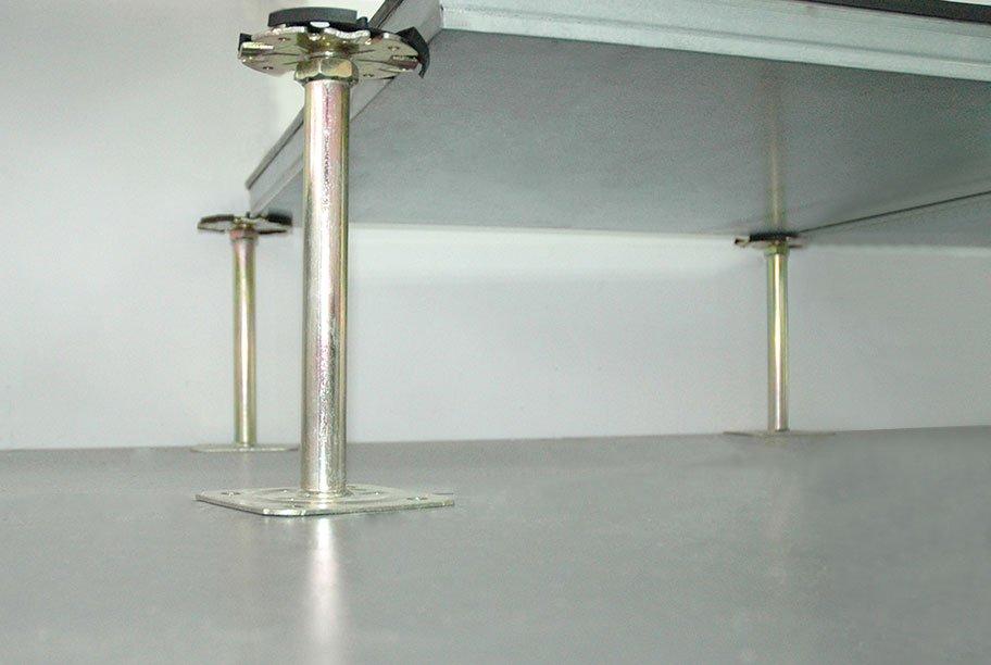 Raised Access Flooring System Assembled Devar