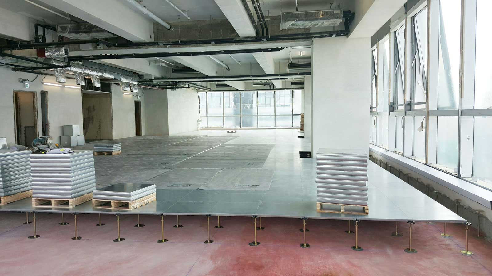Raised Access Flooring System Devar Installed
