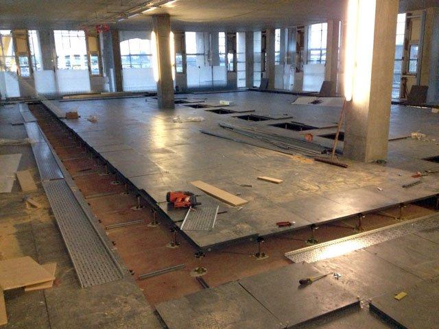 Scottish Water New Operations Centre Glasgow Access Floor Installation
