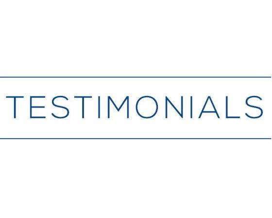 New Testimonials Page